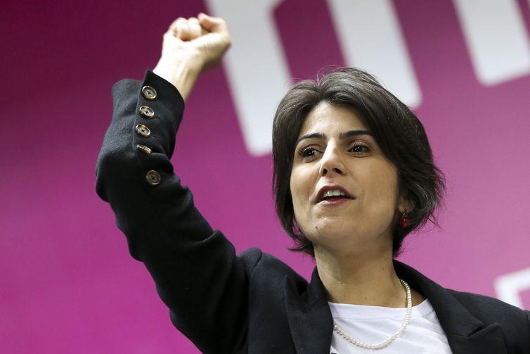O Partido Comunista do Brasil (PCdoB) confirma a candidatura de Manuela d'�vila à Presidência da República, em convenção realizada em Brasília.
