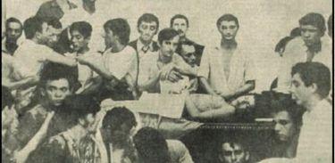 Corpo do estudante Edson Luís foi levado para a Assembleia