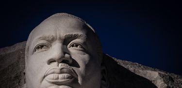 Memorial de Martin Luther King, em Washington, EUA
