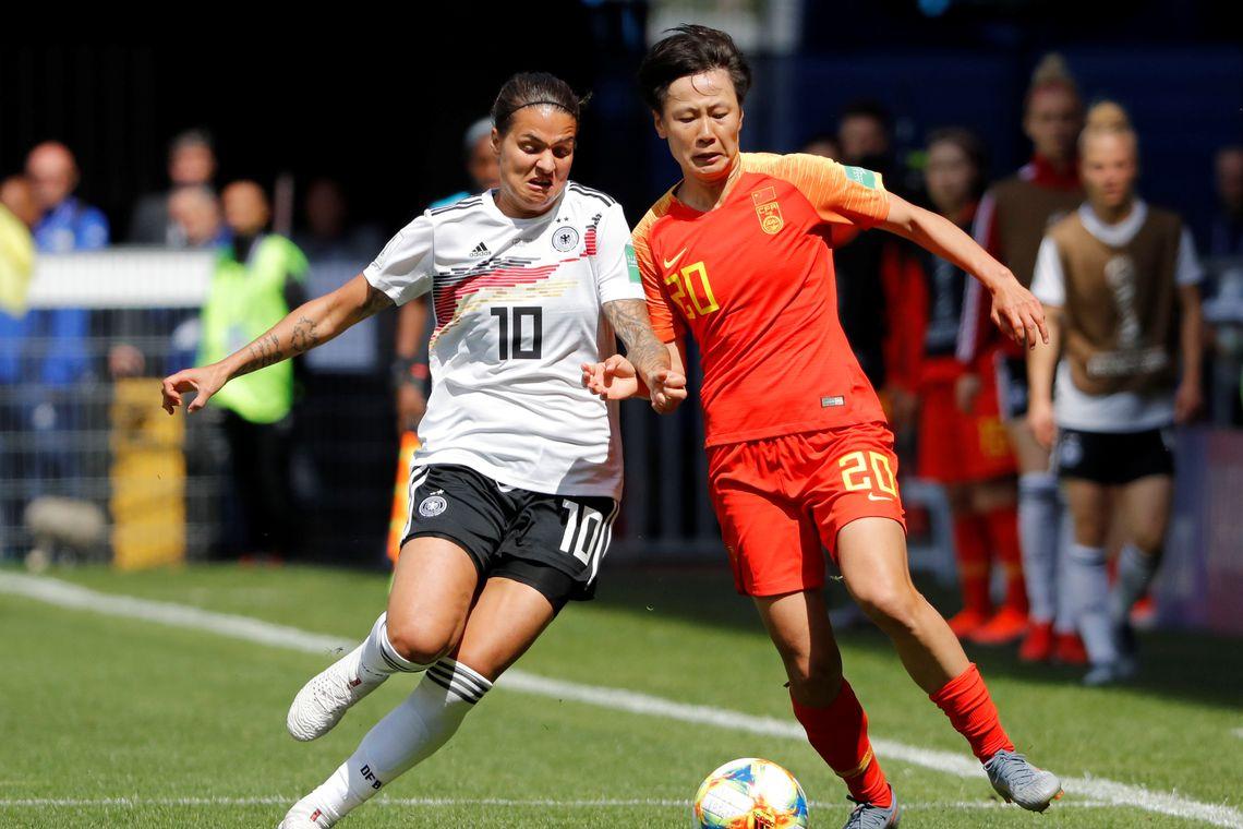 Copa do Mundo de Futebol Feminina 2019 - Alemanha x China.