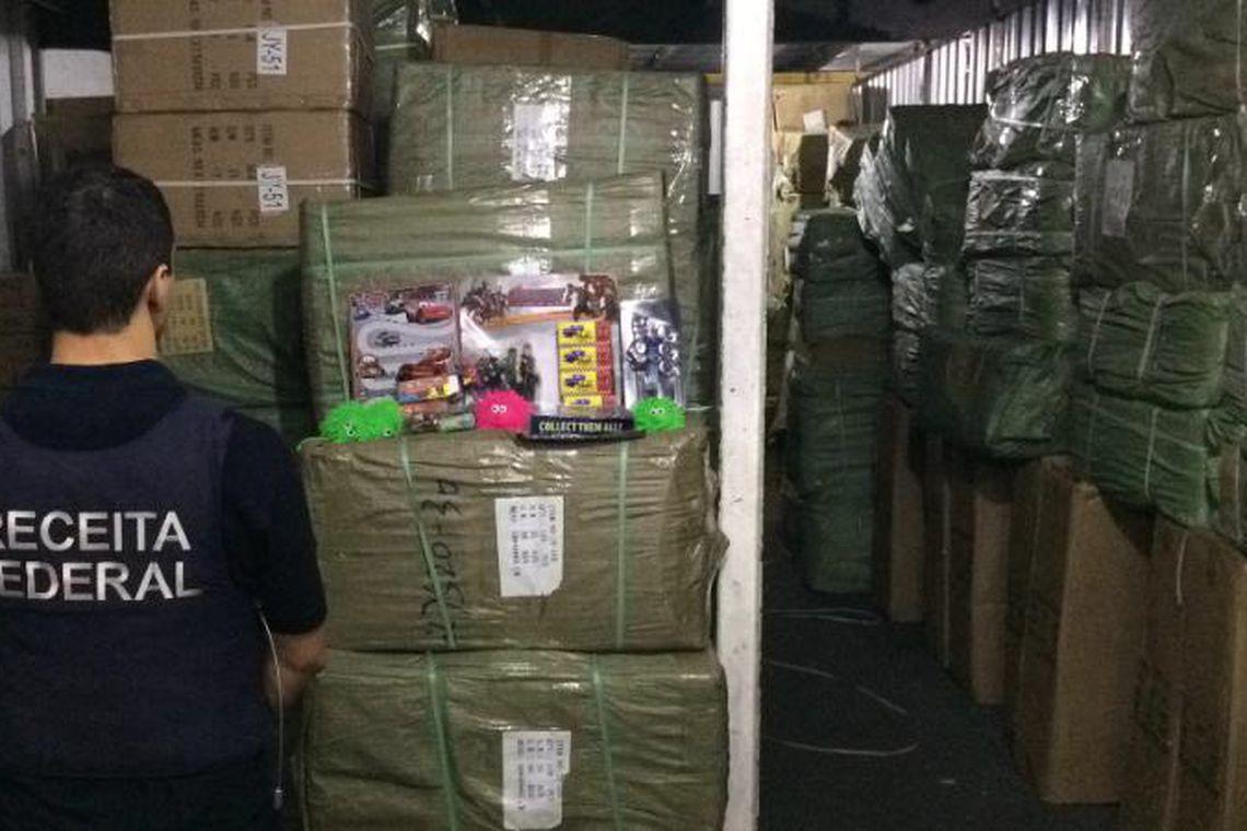 Receita Federal apreende R$ 15 milhões em mercadorias irregulares na capital paulista
