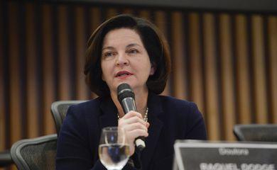 A procuradora-geral da República, Raquel Dodge, fala durante o seminário Transparência e Combate à Corrupção, no Museu do Amanhã, no Rio de Janeiro.