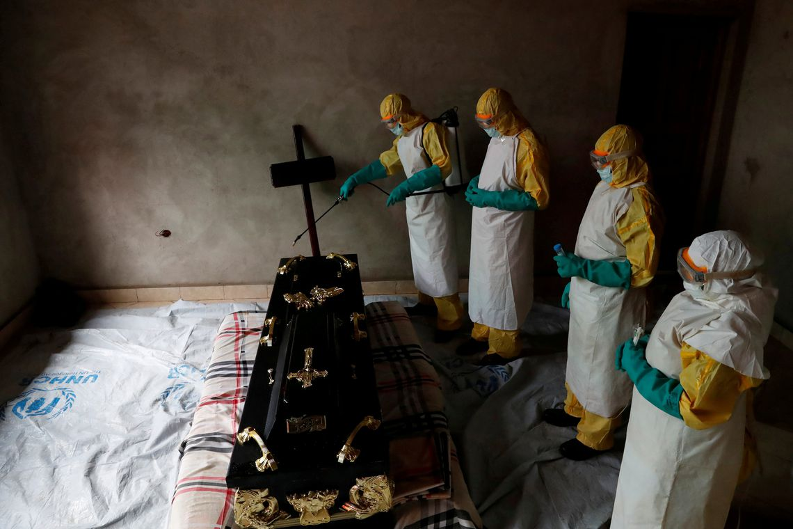 Ebola in Beni, North Kivu Province of Democratic Republic of Congo, December 9, 2018.   REUTERS/Goran Tomasevic         TPX IMAGES OF THE