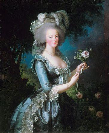 Retrato de Maria Antonieta por Élisabeth Vigée-Lebrun, 1783
