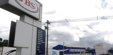 Sede da JBS no município de Lapa, no Paraná Reuters/Ueslei Marcelino