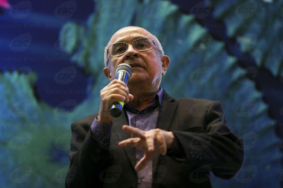 Brasília - Anivaldo Miranda durante o II Seminário Internacional Água e Transdisciplinaridade ( Marcelo Camargo/Agência Brasil)
