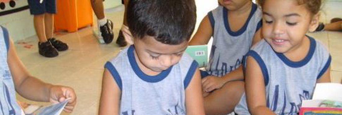 A meta do Brasil é incluir todas as crianças de 4 e 5 anos na escola até 2016