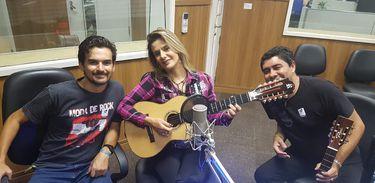 Produtor do Circuito Violada Vítor Mesquita, Adriana Farias e Joãozinho Barroso