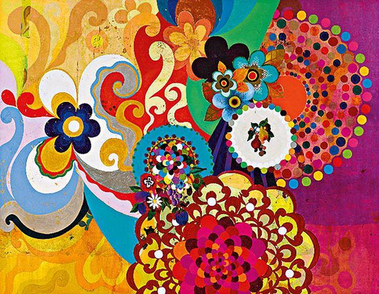 Obra de Beatriz Milhazes: Meu Limão, 2000