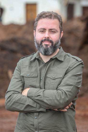 Escritor do Livro Reportagem de Brumadinho: a Engenharia de um Crime