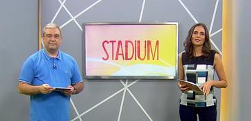 Paulo Garritano e Marília Arrigoni apresentam esta edição do Stadium