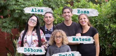 Mistérios de Entrever - Erick e sua família