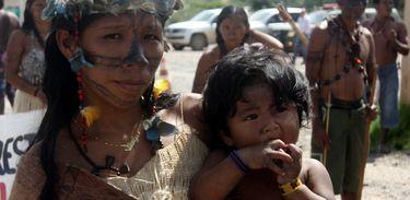 Ocupação Belo Monte: mãe indígena