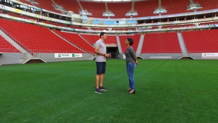 Final com a Alemanha também seria emocionante, desde que a vitória fosse brasileira, diz Lúcio (Divulgação/TV Brasil)