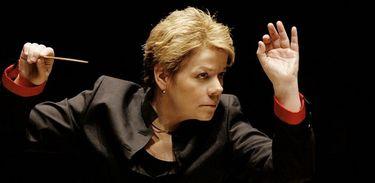 A regente-titular da Orquestra Sinfônica do Estado de São Paulo, Marin Alsop