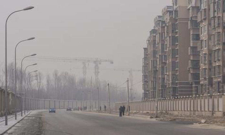 poluição na China (Agência Ansa Brasil/EPA/Direitos Reservados)