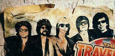 Capa do álbum Traveling Wilburys Vol. 1