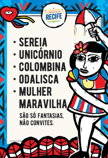 Campanha contra assédio no Recife