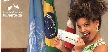 A baiana Lorenna Vilas Boas debaterá sobre questões de mobilidade urbana no Ecosoc