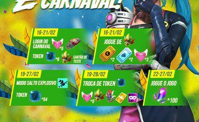 Feriadão de Carnaval no mundo dos games