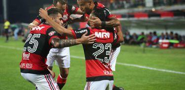 Flamengo 5 X 0 Palestino