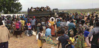 O governo angolano colocou cerca de 33 km2 de terra ao dispor dos refugiados congoleses