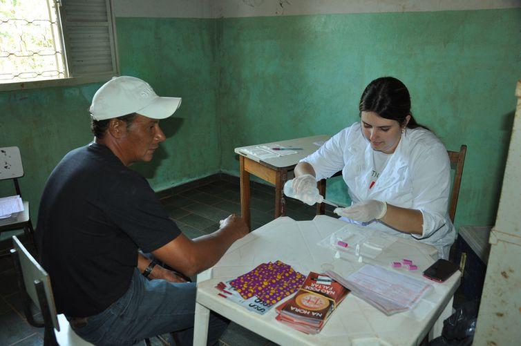 Projeto Cultivando Saúde na cidade de Mineiros/GO