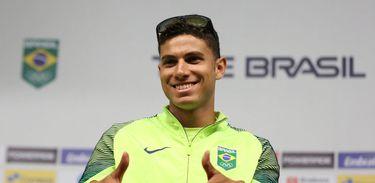 O medalhista olímpico Thiago Braz é uma das atrações do GP Brasil Caixa