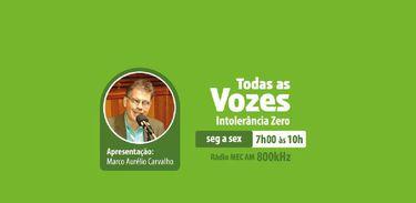 Logomarca atual do programa Todas as Vozes