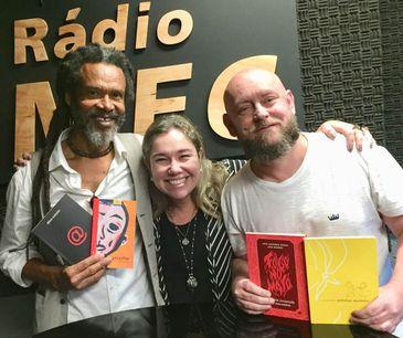Dois autores que escrevem sobre o Brasil plural e da diversidade.