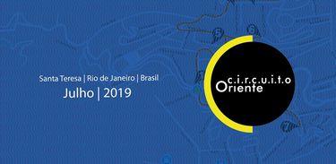 conjunto de exposições e conversas com artistas em Santa Teresa - RJ