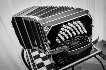 Bandoneon, instrumento principal do tango