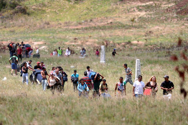 Refugiados, Venezuelanos, Crise REUTERS/Ricardo Moraes