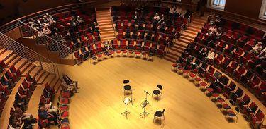 Sala de concerto Pierre Boulez Hall