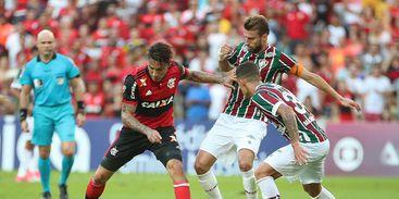 Fluminense empata com o Flamengo (Foto: Gilvan de Souza/ flamengo.com.br