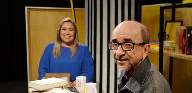 Katy Navarro entrevista o escritor e jornalista Joaquim Ferreira dos Santos