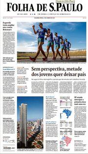Capa do Jornal Folha de S. Paulo Edição 2021-06-21