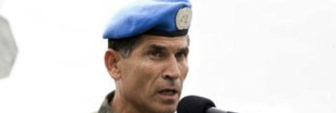 O general Carlos Alberto dos Santos Cruz, de 60 anos, irá comandar a missão de paz no Congo