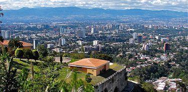 Guatemala vista do El Mirador