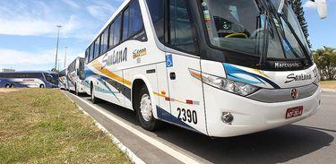 Ônibus, transporte público