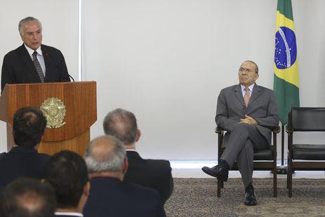 O presidente Michel Temer participa do anúncio de vagas para comunidades terapêuticas de acolhimento de dependentes