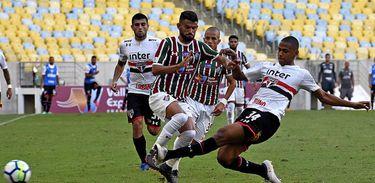 Fluminense 1 X 1 São Paulo