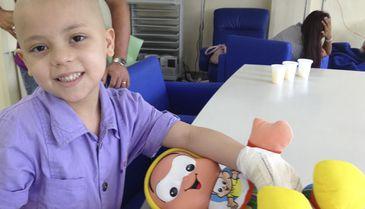 Crianças atendidas pelo Projeto Dodói