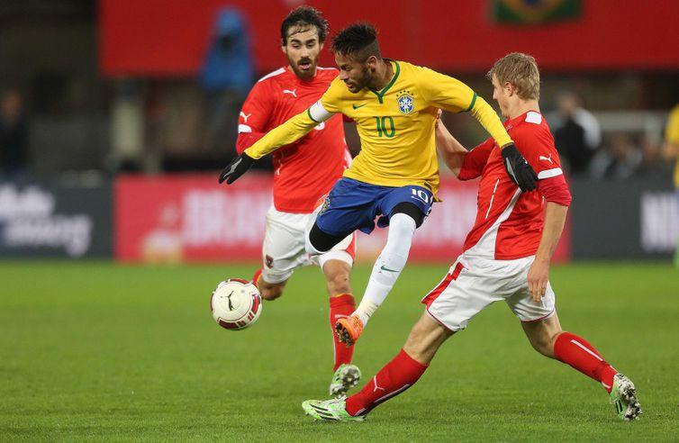Ao vivo  Brasil faz último amistoso antes da Copa contra Áustria ... 135ab6074ce0b