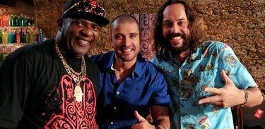 Mr. Catra, Diogo Nogueira e Gabriel O Pensador no Samba na Gamboa
