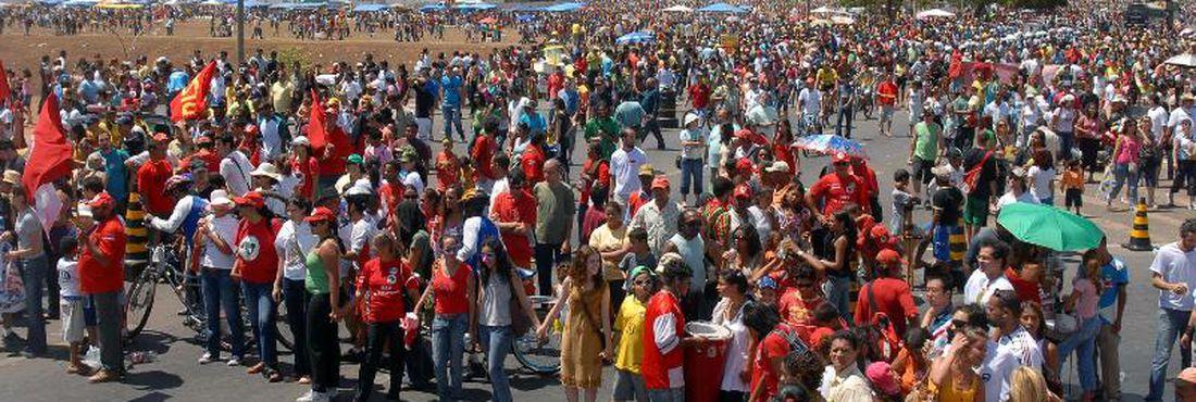 Grito dos excluídos em Brasília em 2011