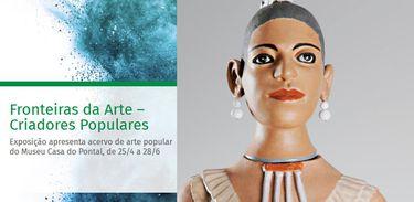 """Exposição """"Fronteiras da Arte - Criadores Populares"""" está em cartaz no BNDES-RJ"""