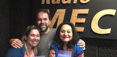 Numa Ciro e Toinho Castro no Conversa com o Autor