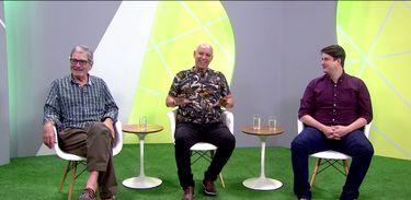 Marcio Guedes, Valdir Espinosa e Felipe Ruggeri