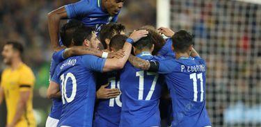 Diego Souza (duas vezes), Thiago Silva e Taison marcaram os gols da vitória